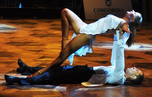 Jurij und Aleksandra Kaiser zur Deutschen Meisterschaft 2012 Professionals Kür Standard und Latein März 2012 - Bild 5