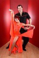 Lars Riedel mit Marta Arndt bei Lets dance 2012 - Foto: (c) RTL / Stefan Gregorowius