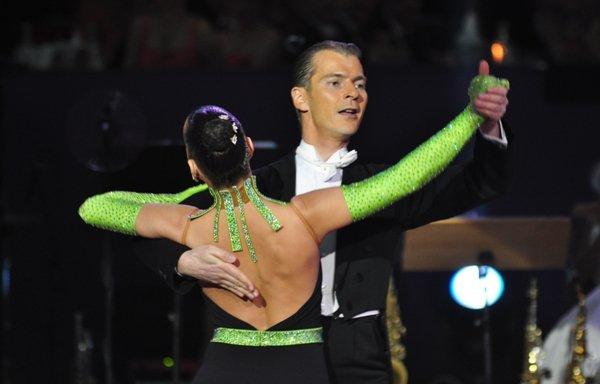 Mario und Sabine Schiena zur Deutschen Meisterschaft 2012 Professionals Kür Standard März 2012 - Bild 2