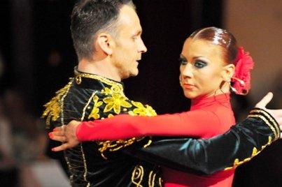 Markus Homm und Ksenia Kasper - Sieger beim GP von Deutschland 2012 Latein-Tänze