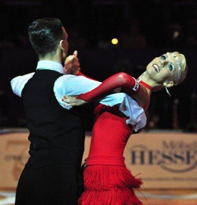 Oliver und Jasmin Rehder zur Deutschen Meisterschaft 2012 Professionals Standard-Kür März 2012 - Bild 1