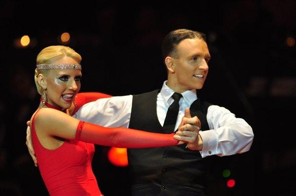 Oliver und Jasmin Rehder zur Deutschen Meisterschaft 2012 Professionals Standard-Kür März 2012 - Bild 2