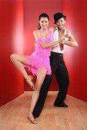 Rebecca Mir bei Lets dance 2012 mit Massino Sinato - Foto: (c) RTL / Stefan Gregorowius