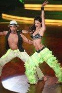 Rebecca Mir und Massimo Sinato bei Let's dance 2012 - Foto: (c) RTL / Stefan Gregorowius