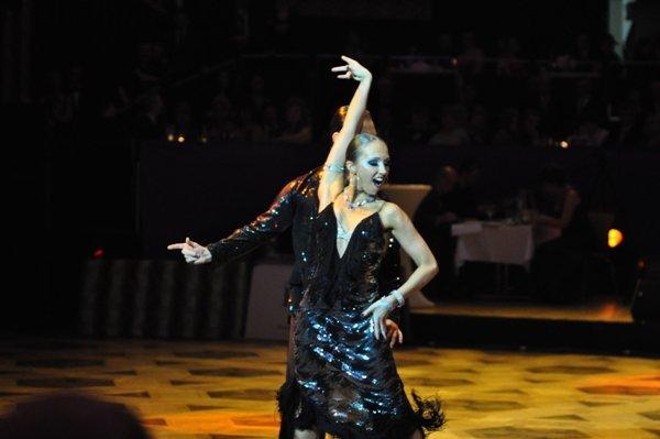 Sergey Oladyshkin und Anastasia Weber zur Deutschen Meisterschaft 2012 Professionals Kür März 2012 - Bild 3