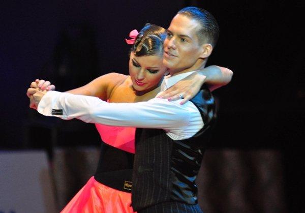 Steffen Zoglauer und Sandra Koperski zur Deutschen Meisterschaft 2012 Professionals Standard-Kür März 2012 - Bild 2