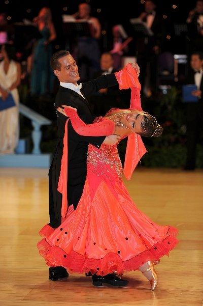 Tanzpaar Sandra Koperski und Steffen Zoglauer