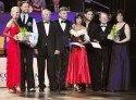 Tanzsport: Deutsche Meisterschaft Kür 2012 Profis - die Sieger-Paare und Verantwortliche des DPV