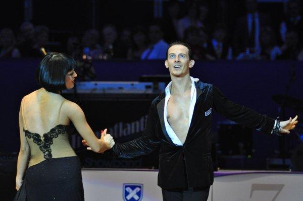 Valera Musuc und Nina Trautz zur Deutschen Meisterschaft 2012 Professionals Kür Latein März 2012 - Bild 4