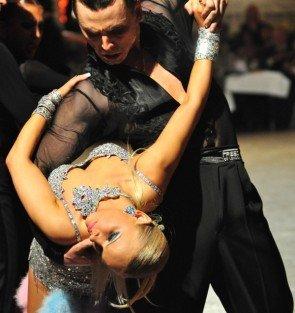 Viacheslav Mostevoi und Agnieszka Pomorska beim GP von Deutschland 2012 Latein-Tänze - 4