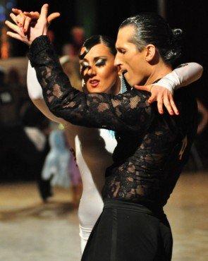 Vladyslav Talybin und Evgenia Poskrebysheva zum GP von Deutschland 2012 Latein-Tänze - 4