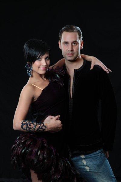 Die Tanz-Profis Sven Binek und Valentina Ershova