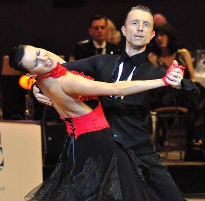 Adrian und Johanna-Elisabeth Klisan - 7. zur WM 2012 Kür Standard