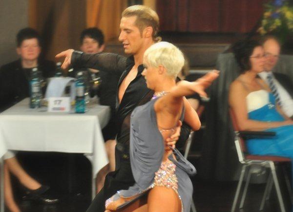 Anja Leiter - Jannick Busch DM Latein 2012 Profis in Giessen - 1