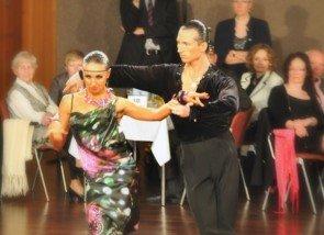 Evgenia Poskrebysheva - Vladyslav Talybin – DM Latein 2012 Profis in Giessen - 2