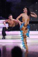 Rebecca Mir bei Lets dance 2012 mit Masssimo Sinato in Show 8 - Foto: (c) RTL / Stefan Gregorowius