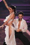 Rebecca Mir grandios im Finale von Lets Dance 2012 mit Massimo Sinato - Foto: (c) RTL / Stefan Gregorowius