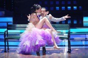 Rebecca Mir und Massimo Sinato im Halbfinale von Lets dance 2012 - Foto: (c) RTL / Stefan Gregorowius