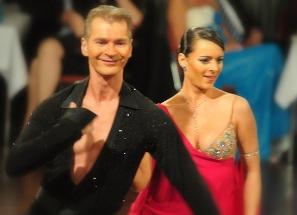 Sabine und Mario Schiena - DM Lateintänze 2012 Profis in Giessen - 1