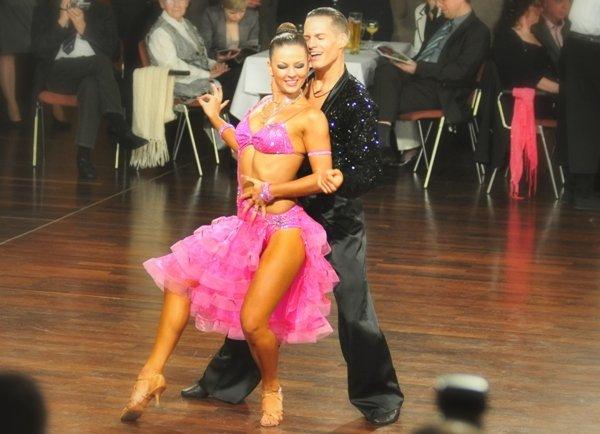 Sandra Koperski - Steffen Zoglauer - Deutsche Meister 2013 10 Tänze bei Latein-Tänzen