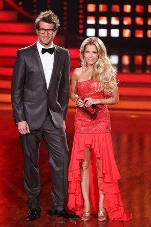 Sylvie van der Vaart im Finale bei Lets dance 2012 - Foto: (c) RTL / Stefan Gregorowius