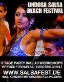 Undosa Salsa Beach Festival Starnberger See Pfingsten 2012