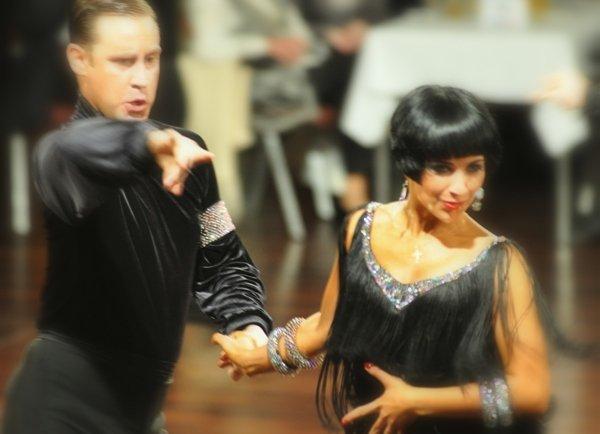 Valentina Ershova - Sven Binek DM Latein 2012 Profis in Giessen - 2