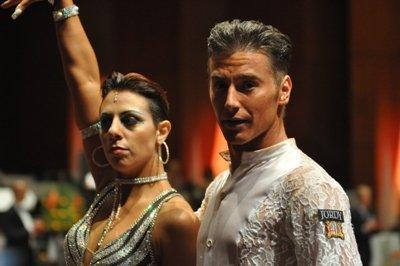 Artyom Klimenov - Guilia Nuzio - Italien - WDC-AL-Turnier Mannheim 2012 - 12