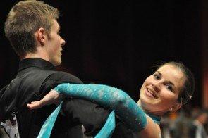 Maurice Metzler und Sophia Bolz von der Tanzschule Klouda beim International Dance Masters Mannheim 2012