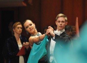 Tobias Richter - Linda Schmelter von der Tanzschule Richter aus Freital beim Turnier in Mannheim