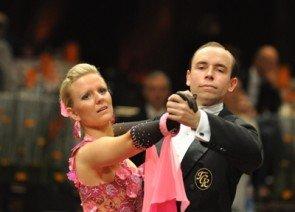 Peter Pfitzenreiter - Gisa Helmig aus der Tanzschule Richter (Freital) beim International Dance Masters Mannheim 2012