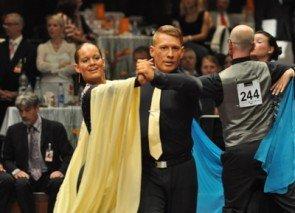 Stefan Gaadt und Karen Fischer aus der Tanzschule Creadom Mannheim