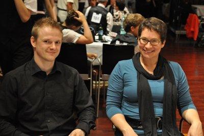 Mannheim 2012 - Eril Rodrian und Christiane Peglow aus Hofmheim