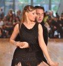 Sven Binek und Marina Depledge beim Pro-Am-Turnier Lateinamerikanische Tänze Mannheim 2012