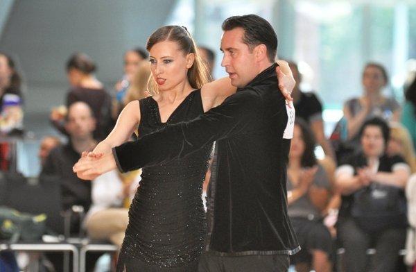 Sven Binek und Marina Depledge - Pro-Am-Latein-Turnier Mannheim 2012