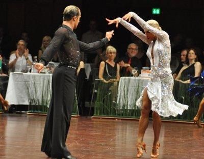 Die Latein-Weltmeister der Tanzprofis in Mannheim - Riccardo Cocchi-Yulia Zagoruychenko