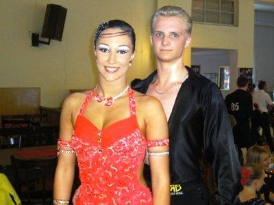 Mike Meinert - Alina Mißfeldt aus Norderstedt beim Tanzsport-Panke-Pokal Berlin Juni 2012