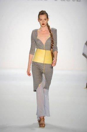 Rebekka Ruetz wieder zum Start der Fashion Week Berlin 2013 dabei. Hier ein Foto von der letzten Fashion Week Berlin
