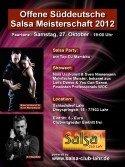 Sueddeutsche Salsa-Meisterschaft 2012 im Schlachthof Lahr