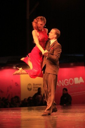 Yannick Vanhove - Liz De Vuyst - Tango-Europameister 2012 Tango Salon aus Belgien