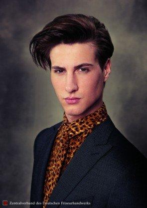 Dandy-Frisur pur vom ZV des Friseurhandwerks
