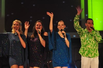 Peter and the Wolvettes zur Abba-Party in Berlin