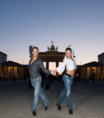 Steffen Zoglauer - Sandra Koperski - Tanz-Profis aus Berlin - Foto: Pit Schwanitz