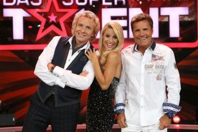 Supertalent-Jury 2012 - Thomas Gottschalk - Michelle Hunziker - Dieter Bohlen - Foto: (c) RTL / Andreas Friese