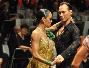 Sven Ninnemann - Nina Uszkureit - Tanz-Europameister 2012 Kür Latein der Professionals