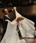 Tanzpaar Eldar Dzhafarov – Anna Sazina aus Aserbaidshan - Europameister 10 Tänze 2012