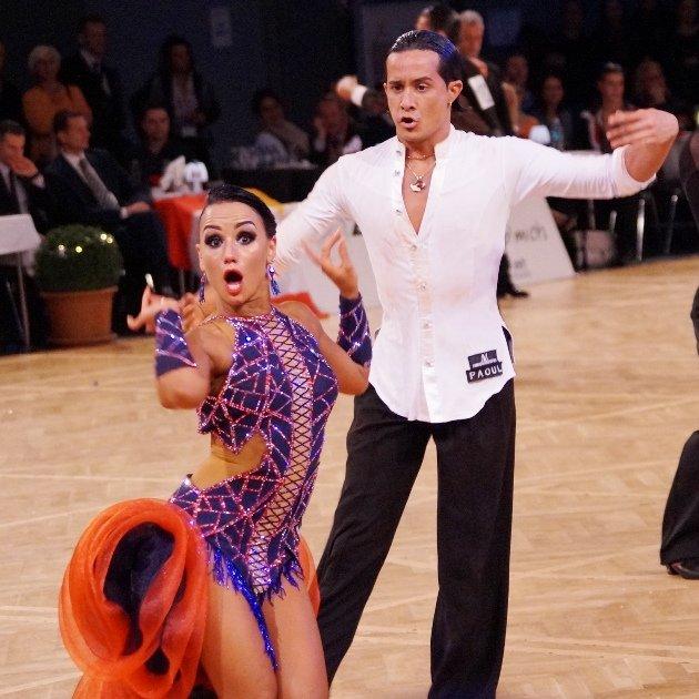 Tanzsport Magazin - hier Andrea Silvestri - Varadi Martina aus Ungarn