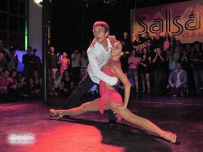 Andreas Klik - Kerstin Uhlig bei der letzten Badischen Salsa-Meisterschaft