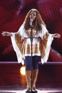 Sängerin Deidra Jones beim Supertalent 2012 - Foto: (c) RTL / Andreas Friese