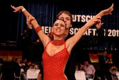 Kerstin Uhlig und Andreas Klik zur letzten Deutschen Salsa-Meisterschaft